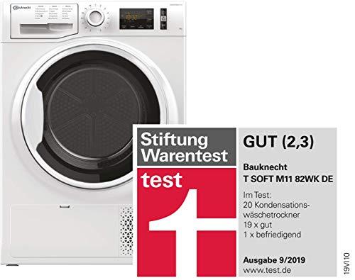 Bauknecht T Soft M11 82WK DE Wärmepumpentrockner/A++/8 kg/ActiveCare-Technologie/Leichte und schnelle Reinigung dank EasyCleaning-Filter/Wolle-Programm/Stratzeitvorwahl - 2