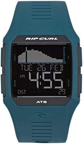 Rip Curl Men s Rifles Tide Quartz Sport Watch with Polyurethane Strap Black 27 Model A1119 BLK product image