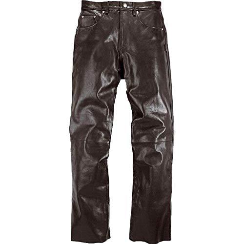 Helstons Motorradhose Corden Cow Rag Lederhose schwarz 34, Herren, Chopper/Cruiser, Ganzjährig
