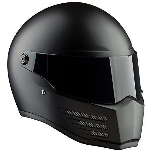 Bandit Helmets Fighter ECE 22-05, Sports-Farbe:dull black;Größe:XL(61/62)