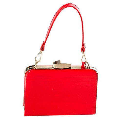 Dancing Days Mini Handtasche - Mildred Rot