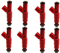 UPGRADE 30LB 4 Hole Fuel injectors for 96-04 Ford Mustang 4.6 5.0 5.4L (pack of 8)
