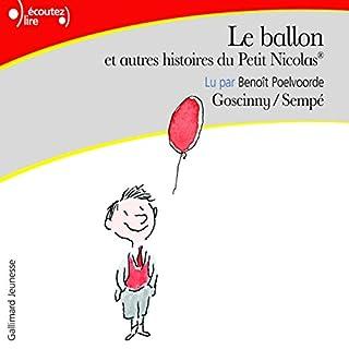 Page de couverture de Le ballon, et autres histoires du Petit Nicolas