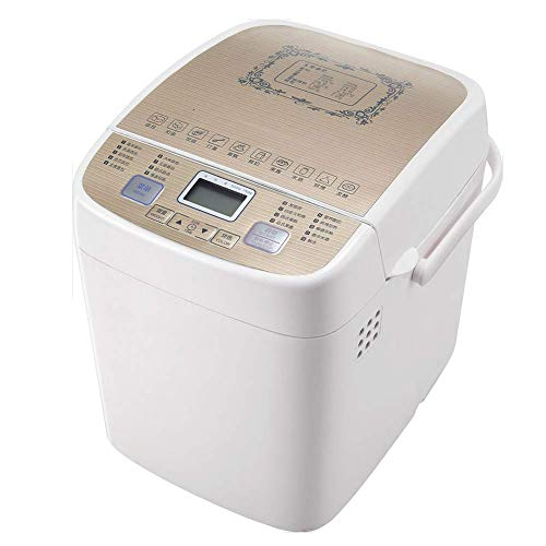 New WXHHH Automatic Breadmaker, Programmable Bread Machine with Gluten Free Setting, LCD Display,15 ...