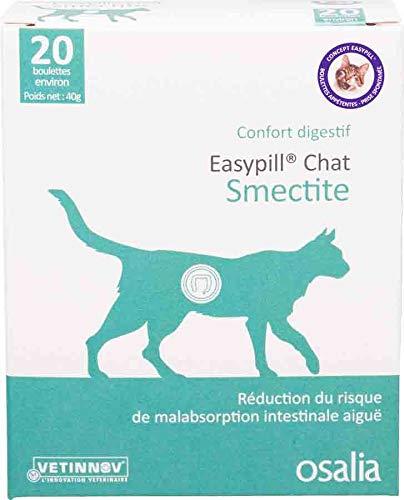 Easypill - Silicato (para gatos, 20 pastillas de 2 gramos)
