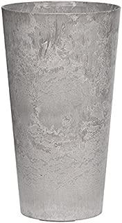 Novelty Artstone Napa Tall Planter, Gray, 19.5-Inch