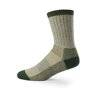 Minus33 Merino Wool 903 Day Hiker Sock Olive Green Large