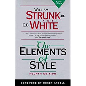 The Elements of Style, Fourth Edition Kindle Edition