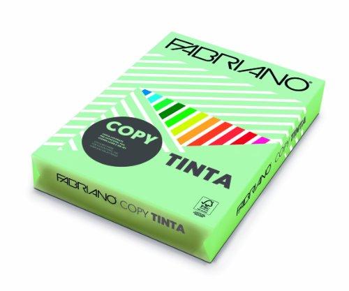 Creative World Of Crafts Ltd Risma di Carta Tinta 160 g/mq, Formato A4, Colorata, Colore Verde Chiaro