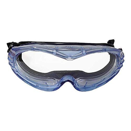 3M Fahrenheit Gafas de seguridad estancas de Acetato ocular incoloro AR/AE para casco (1 gafa/bolsa), 71360-00017M