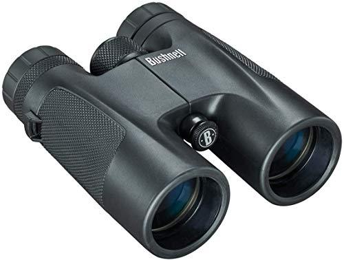Bushnell - Powerview - Prismáticos 10x42 - Negro - Techo Prisma - Diseño Robusto - Visión Clara - Compacto, con múltiples Posibilidades de Uso - 141042