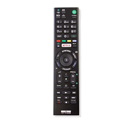 Sony Ersatz-Fernbedienung für Sony TV RMT-TX100D, RMT-TX101J, RMT-TX102U, RMT-TX102D, RMT-TX101D, RMT-TX100E, RMT-TX101