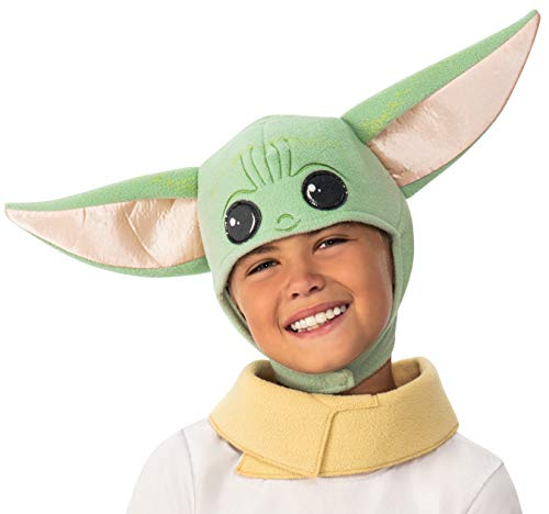 Rubie's Baby Star Wars The Mandalorian The Child Headpiece and Scarf, Toddler/Small