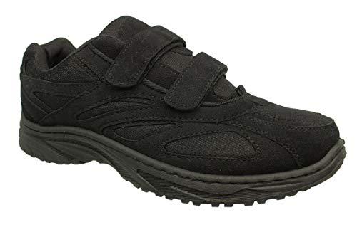 buyAzzo Herren Freizeitschuhe Sportschuhe | Sneaker Trekkingschuhe | Outdoor Wanderschuhe | Komfort Klettverschluss Schuhe Gr.46 47 48 NEU (47 EU)