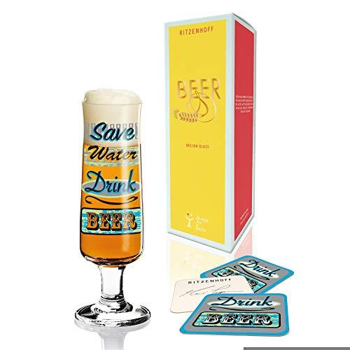 RITZENHOFF Vaso de Cerveza diseño de Marie alentada 2015, Multi-Color