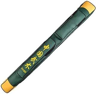 Junenoma Taichi Espada Bolsa De Transporte Kung Fu Chino Espada De Doble Capa Bolsa Espada Bolsa De Transporte Caja del Hombro De Armas De Artes Marciales Caso Espada