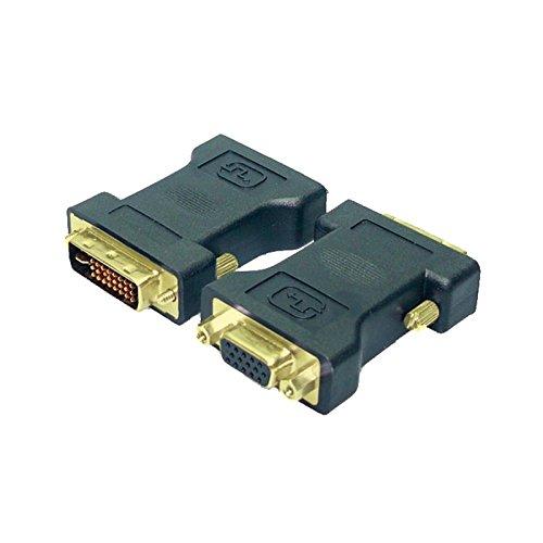 LogiLink AD0001 - Adaptador DVI-I Macho a HD D-Sub Hembra