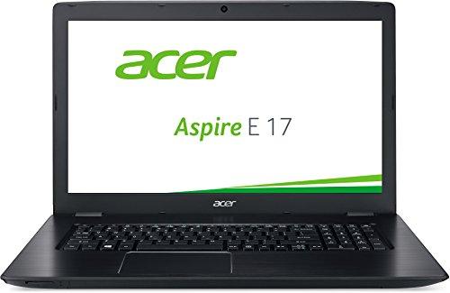 Acer Aspire E 17 (E5-774-37ZB) 43,9 cm (17,3 Zoll) Notebook (Intel Core i3-6100U, 4GB RAM, 500GB HDD, Intel HD Graphics, DVD, ohne Betriebssystem) schwarz