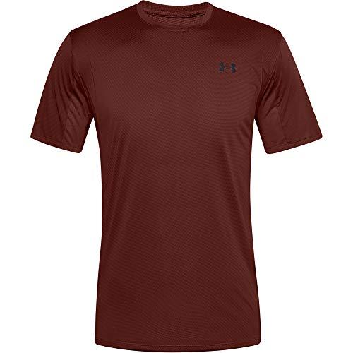Under Armour Training Vent SS, Camiseta Hombre, Rojo (Cinna Red/Black), XS