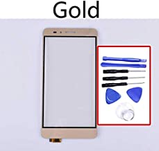 KINGCOM-Mobile Phone Touch Panel - Touchscreen For Huawei Honor 5X Touch Screen Panel Sensor Digitizer For GR5 KII-L21 L22 L23 L03 L05 Display Glass Lens (Gold-With tool)