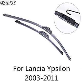 Wipers Hukcus Wipers Blade For Lancia Ypsilon from 2003 2004 2005 2006 2007 2008 to 2018 Windscreen wiper Wholesale Car Accessories - (Color: 2003-2011)