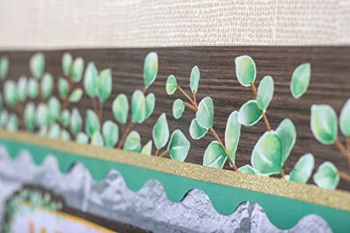 Teacher Created Resources Eucalyptus Green Scalloped Border Trim (TCR8687) Photo #3