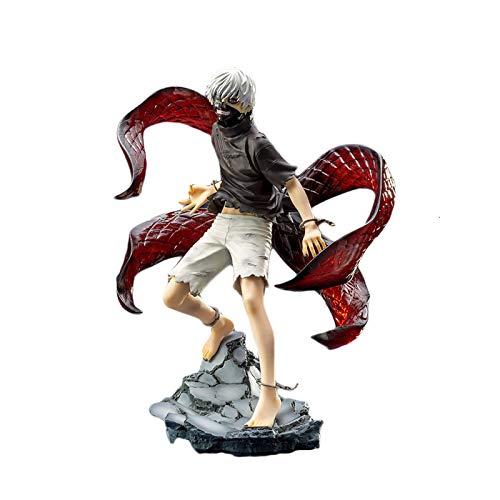 Tokyo Ghoul Anime Modelo Kaneki Ken Figura De Acción Estatua PVC 23Cm Colección Juguete