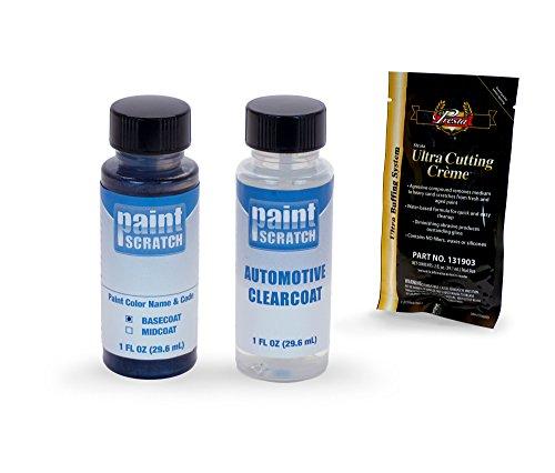 PAINTSCRATCH Touch Up Paint Bottle Car Scratch Repair Kit - Compatible/Replacement for Mercedes-Benz Sprinter Obsidian Black Metallic (Color Code: 197/9197)