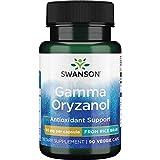 Swanson Gamma Oryzanol from Rice Bran 60 Milligrams 90 Veg Capsules