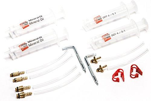 Universal Entlüftungs-Kit Basic für Magura® / Formula® / Shimano® / Avid® Scheibenbremsen - Mit Torx T7 und Torx T10