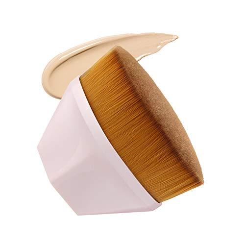 Kabuki pinceau de maquillage professionnel Pinceau fond de teint Flat Top-For Fond de teint liquide et crème et poudre synthétique Mélangeant fibre Face Touch-Soft pinceau de maquillage de maquillage