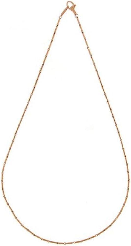 Chimento,collana per donna ,in  oro rosa 18 kt(5,8gr) della linea bamboo 1G00613ZZ6450
