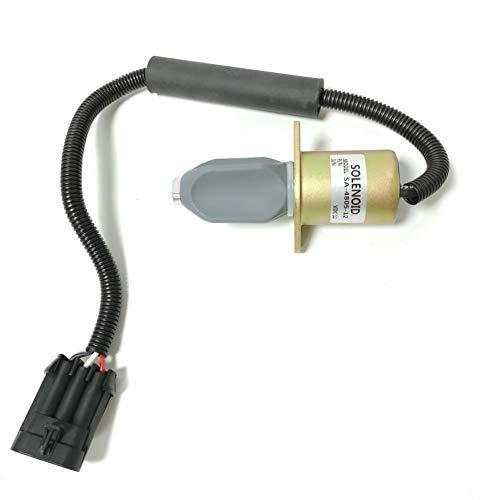 SinoCMP SA-4805 Actionneur 12 V – Électrovanne d'arrêt de carburant pour pièces de moteur Disel Excavatrice