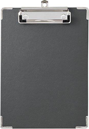 キングジム 用箋挟み クリップボード A5 黒 短辺とじ 8303クロ 【まとめ買い10枚セット】