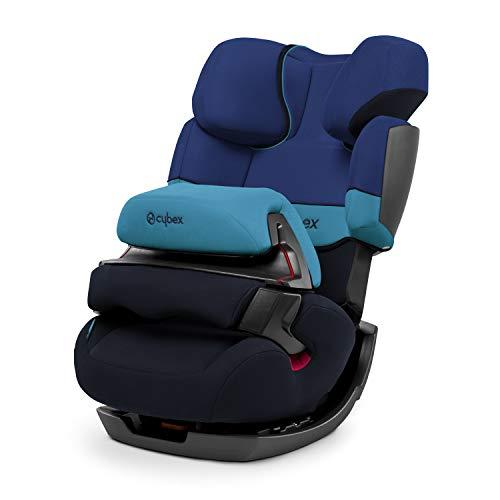 Cybex - Silla de coche grupo 1/2/3 Pallas, silla de coche 2 en 1 para niños, sin ISOFIX, 9-36 kg, desde los 9 meses hasta los 12 años aprox., color Azul (Blue moon)