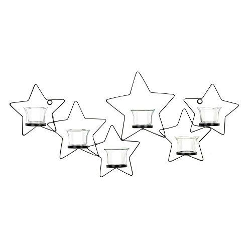 Köhler Urlaub Seasonal Weihnachten Home Decor Starlight Kerzenhalter aus Eisen Wandhalterung Wandleuchte
