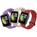 BDIG 3 Pcs Correas Compatible para Xiaomi Mi Watch Lite/Redmi Watch, Mi Watch Lite Pulsera Colorido...