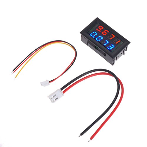 Lowest Price! 0.28 Inch Digital DC 4 Bit DC 100V 10A Voltmeter Ammeter Voltage Current Meter