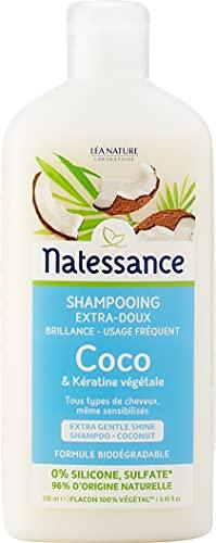 Natessance Shampoing Usage Fréquent Coco/Kératine Végétale
