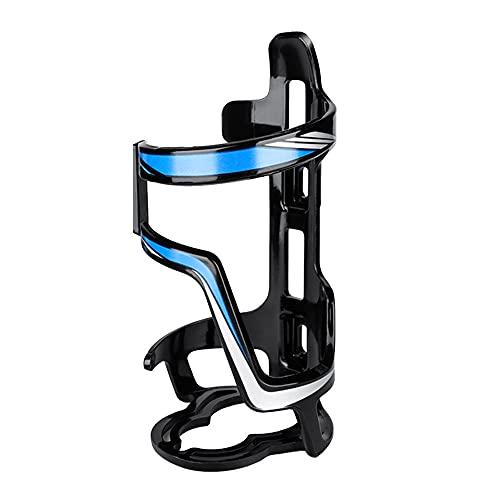 Soporte para botella de agua para bicicleta de monta?a, soporte para taza para montar en bicicleta ultraligero, jaula para botella de agua para bebida de resina para PC para bicicleta de carretera MTB