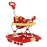 LuvLap Comfy Baby Walker & Rocker, Height Adjustable with Light & Musical Toys