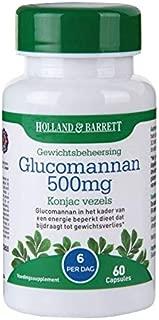 glucomannan pierdere în greutate holland și barrett