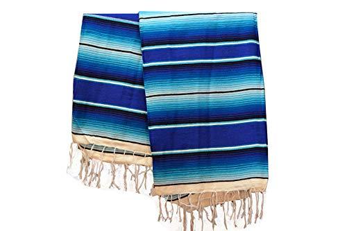 Icolori | Mexikanische Serape Sarape Decke - acryl - 210x150cm