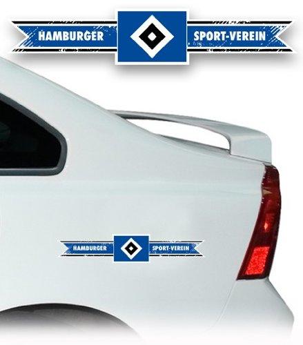 AUTO AUFKLEBER STICKER HAMBURGER SV HSV Banderole mittel UVP 7,95 € NEU