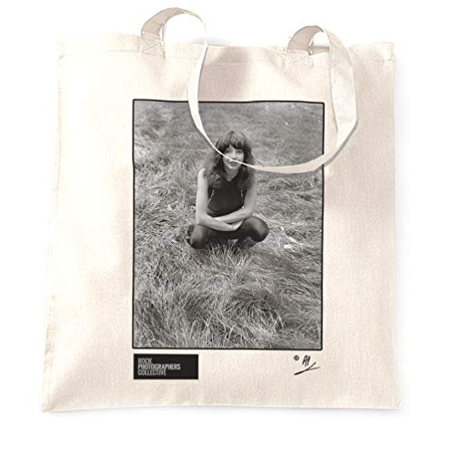 Rock Photographers Collective Kate Bush, portrait, London (2) 1980, AP Stofftaschen - Weiß/One Size