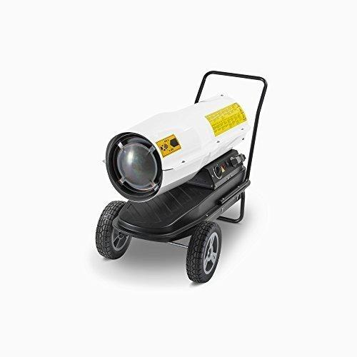 TROTEC Direkt-Ölheizgebläse Heizkanone IDE 30 D Ölheizer Ölbeheizung Heizer (30 kW Heizleistung)