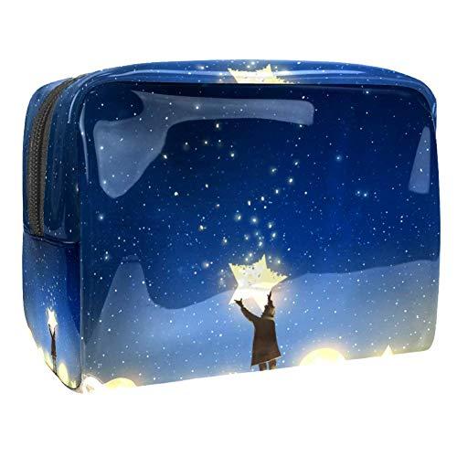 Trousse de toilette multifonction pour femme - Galaxy Star Moon