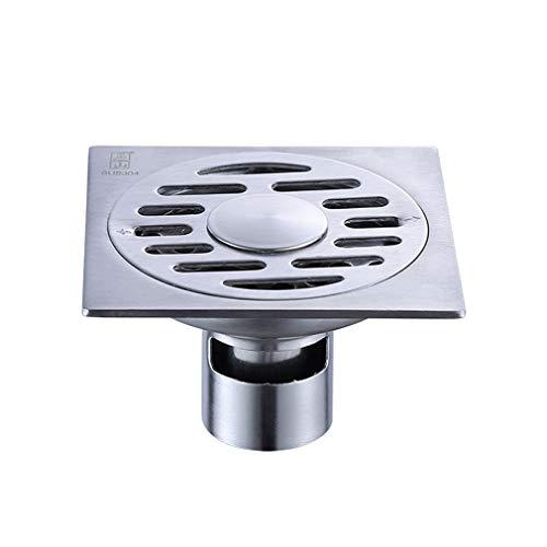 ZTHC Ondiep Water Afdichting En Odor-resistente Vloer Afvoer Wasmachine Grote Verplaatsing Dual-use Automatische Afdichting 304 RVS Regenbestendige Vloer Afvoer Draad Tekening - Ondiep Water Afdichting