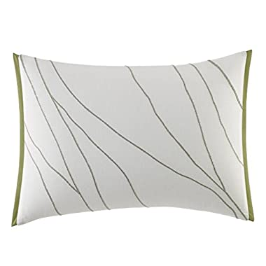 Vera Wang Dragonfly Wing Throw Pillow, 15 x 20, White