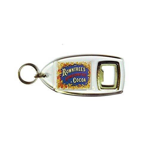 Rowntree's Kakao Retro Shabby Chic Vintage Style Acryl Schlüsselanhänger und Flaschenöffner